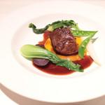 イザイ - 牛ホホ肉の赤ワイン煮 '13 12月中旬