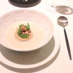 イザイ - 栗のスープとマッシュルームのロワイヤル '13 12月中旬