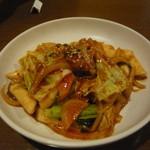 チング - トッポギ炒め