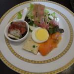 クーネルキッチン - 前菜:バラエティ豊かな前菜それぞれが素晴らしい