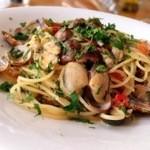 チャオチャオ - アサリとフルーツトマトのスパゲッティーニ