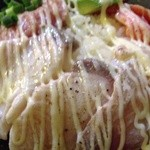 23483184 - 201401 魚撃 ★炙り海鮮丼(840円)★