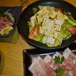 肉料理ひら井 - 【豆腐サラダ】【生ハム】
