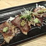 肉料理ひら井 - 【特上カルビのわさび焼き】¥1200 人気メニュー