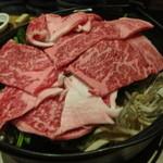肉料理ひら井 - この量で2人前