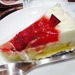 上島珈琲店 - イチゴショートケーキ