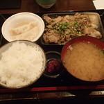 23487686 - 豚バラ煮込定食 750円