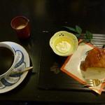 珈琲の観世 - 2014.01.05 モカマタリー9+バターケーキ
