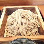 23489792 - ランチ C 海鮮丼 + 小そば 850円 手打ち小そば  【 2014年1月 】