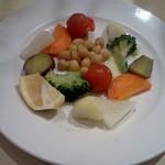 イルピッツァイオーロ - 温野菜盛り合わせ