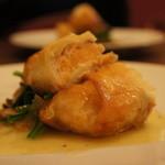 アンサンブル - 真鯛の中にサーモンムースを入れたパートフィロ焼