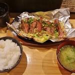 鉄板屋 いっちゃん - カルビ定食