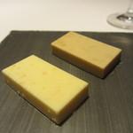 レストラン ラ フィネス - 蟹味噌バター、柚子バター
