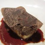 レストラン ラ フィネス - 牛肉のパルマンチェ、ロッシーニ風