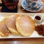 岩村紅茶 - ふわっふわパンケーキセット