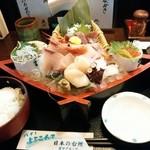 庄や - お昼の刺身定食