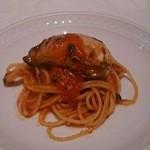 23495319 - パスタ1 生牡蠣のマリナーラソース
