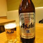 富賀田 - ビール(大)580円