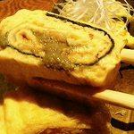 魚和食 浜菜虎 - 蟹味噌の玉子焼