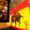 セルベセリアルービロポッサ - 外観写真:赤と黄色の闘牛が目印です