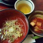 23500594 - スープとキムチ付き