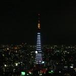 マジェスティック - 42階最上階からの東京タワー夜景
