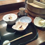豆水楼 - 町家膳2205円のお料理です。