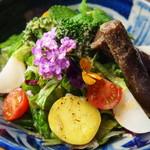 Sushi Dining 旬 - 厳選野菜の「旬旬サラダ」