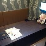 ベビーフェイスプラネッツ - 完全個室の掘りごたつ席もあります!
