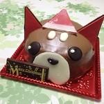 アンテレサント ミルフィユ - ツンツンのクリスマスケーキ♪