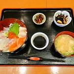 Jougaiichibashokudou - ワンコインチランチ(海鮮丼)