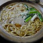 まゆみの店 - 鍋焼きラーメン(並)