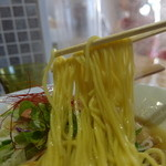 NOODLE STOCK 鶴おか - 中細麺