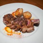 SAJI - イベリコ豚のステーキ 1,600円