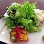 23507860 - ポテトサラダ・野菜のテリーヌ
