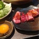 三階松 - 黒毛和牛味噌カルビ  600円