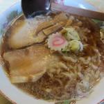 大安食堂 - 醤油ラーメン 550円