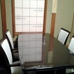 新富鮨 - テーブル席