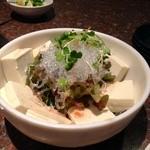 焼肉 牛太 - 豆腐と海藻のサラダ¥609