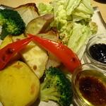 焼鳥 丸屋 - 焼き野菜 盛り合わせ
