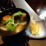 酒と和惣菜 らしく - お雑煮380円