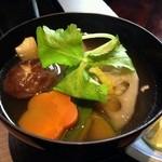 酒と和惣菜 らしく - お雑煮アップ