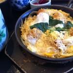 レストランひまわり - かきとじ定食 830円 2014.1
