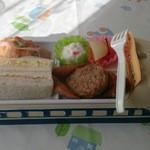 交通科学博物館 食堂車 - 新幹線サンドウィッチ