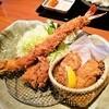 かつアンドかつ - 料理写真:ジャンボ海老、ヒレカツ、牡蠣フライ