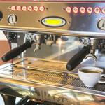 live cafe G - 本格エスプレッソコーヒーです☆