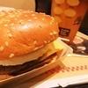 マクドナルド - 料理写真:ダイナー ダブルビーフ(期間限定)