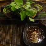 居空間 タイ料理&パクチー酒場 - 生春巻き(ゴイクン)