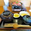 食房 杵 - 料理写真:米沢牛卵とじ定食(950円)