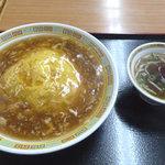 幸梅軒 - 天津飯 650円
